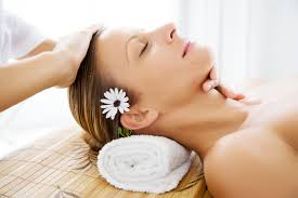 relaxing facial masage barceloba