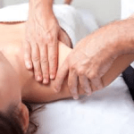 Osteopathy treatment for torticollis, first rib and scalene syndrome