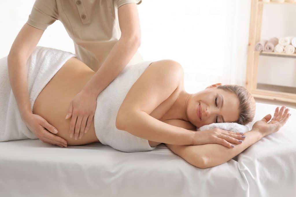 Masaje para embarazadas en Barcelona